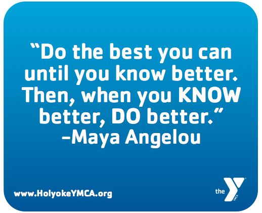 Maya Angelou Quote About Being the Best You Can Be