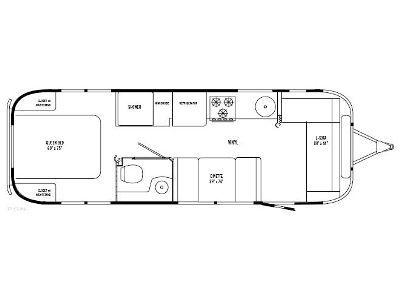 Airstream ideas floorplan joy studio design gallery for 1976 airstream floor plans