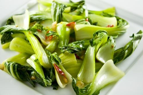 Stir-Fried Bok Choy with Ginger and Garlic | Recipe