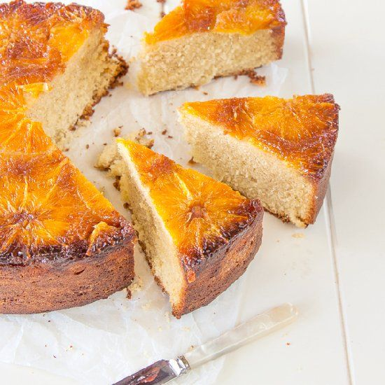 Orange & Cardamom Upside Down Cake | Cakes II | Pinterest