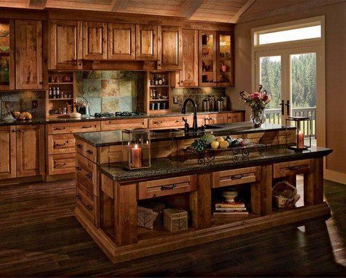 Beautiful country kitchen kitchens pinterest for Beautiful country kitchen pictures