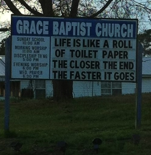 Funny and true!   †RELIGION: Church Marquees & Sinage   Pinterest