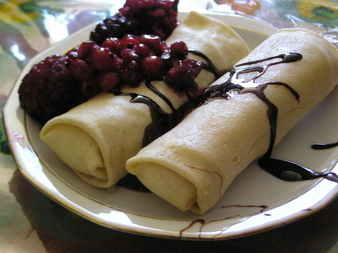blueberry blintzes recipe-the best leave out the egg in the cheese ...