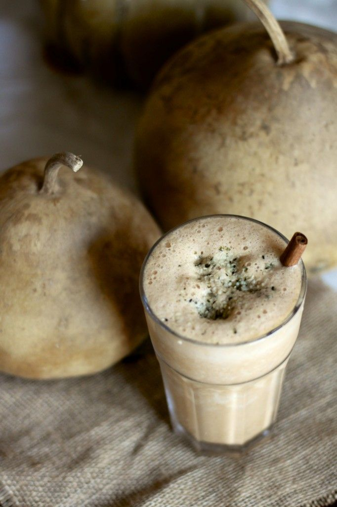 Pumpkin & Spice Protein Shake-- awesome for breakfast or post-workout ...