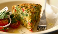 Tenderstem® Broccoli and Chickpea Frittata - great for picnics or ...