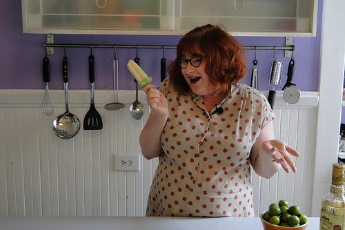 Salted Lime Margarita Cream Pops