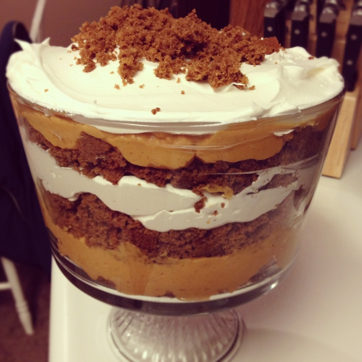 Pumpkin trifle | Trifle Recipes | Pinterest