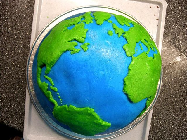 Earth Cake Images