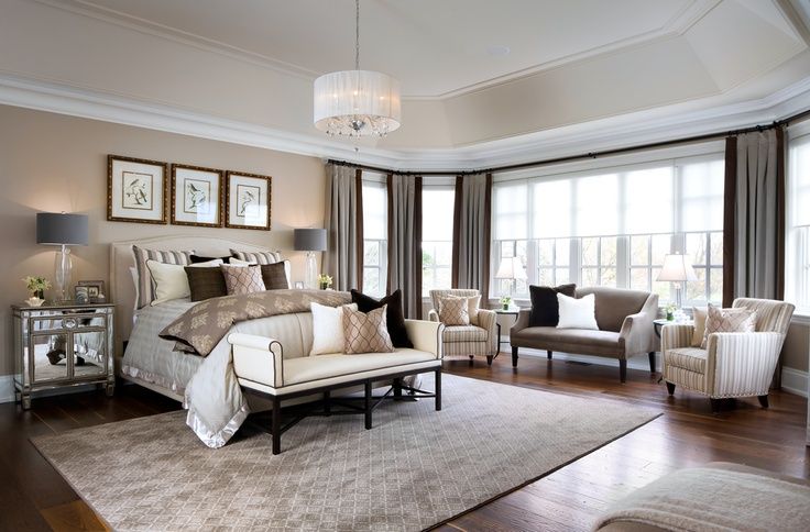 master bedroom custom model home pinterest