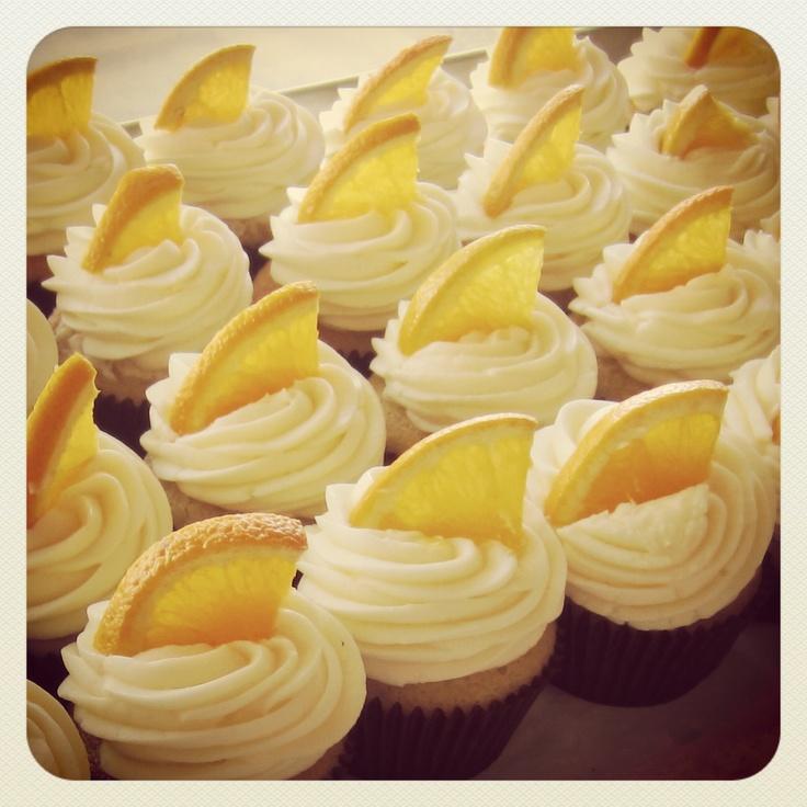 Mimosa Cupcakes | Seasonal Cupcakes | Pinterest