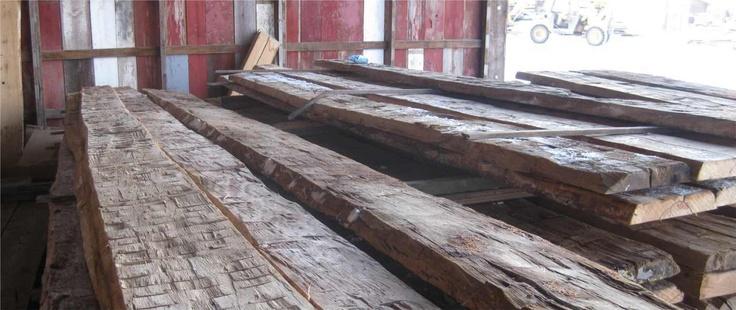 Hand Hewn Slabs Montana Reclaimed Lumber Co