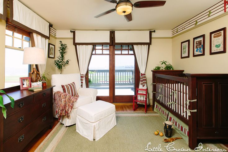 Historical Boy's Nursery with Traditional Design Elements
