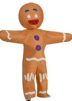 Gingerbread Man Halloween Costume! | Crafts/DIY | Pinterest