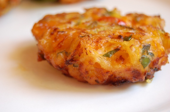 Greek tomato fritters | Fritters | Pinterest