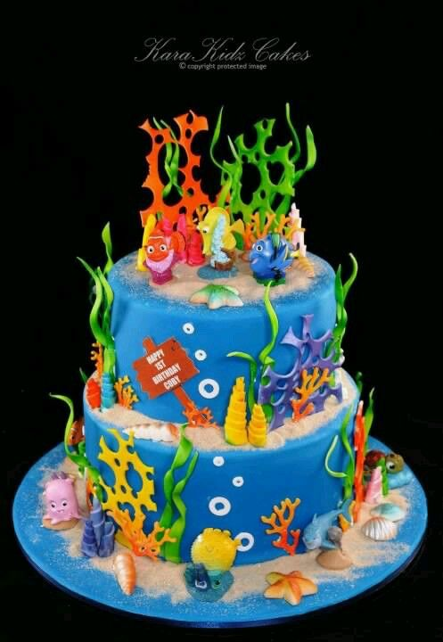Finding Nemo cake Finding nemo Pinterest