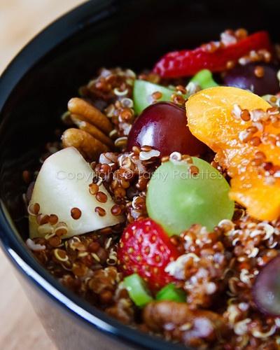 Quinoa Fruit Salad | YUMMO! | Pinterest
