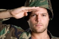 Adopt a soldier pen pal.