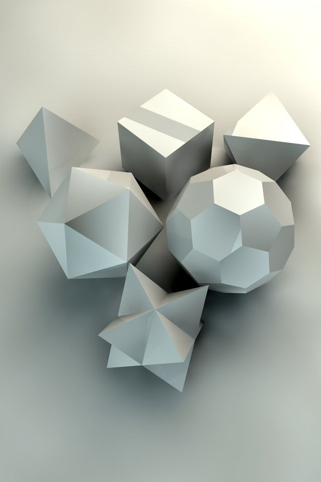 Platonic solidsPlatonic Solids Art