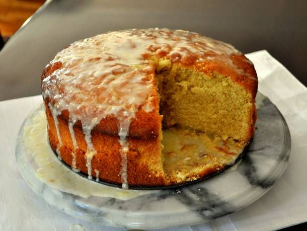 Glazed Orange Pound Cake from Serious Eats. http://punchfork.com ...