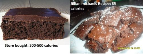Jillian Michaels low calorie Brownie