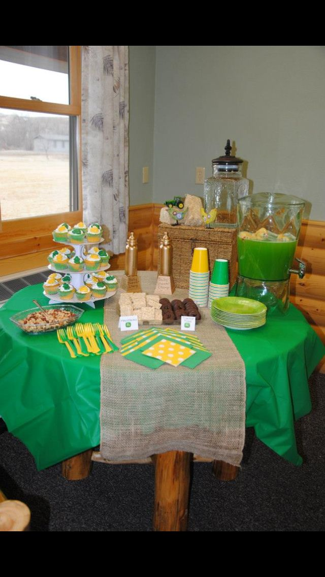 john deere baby shower rustic country baby shower pinterest