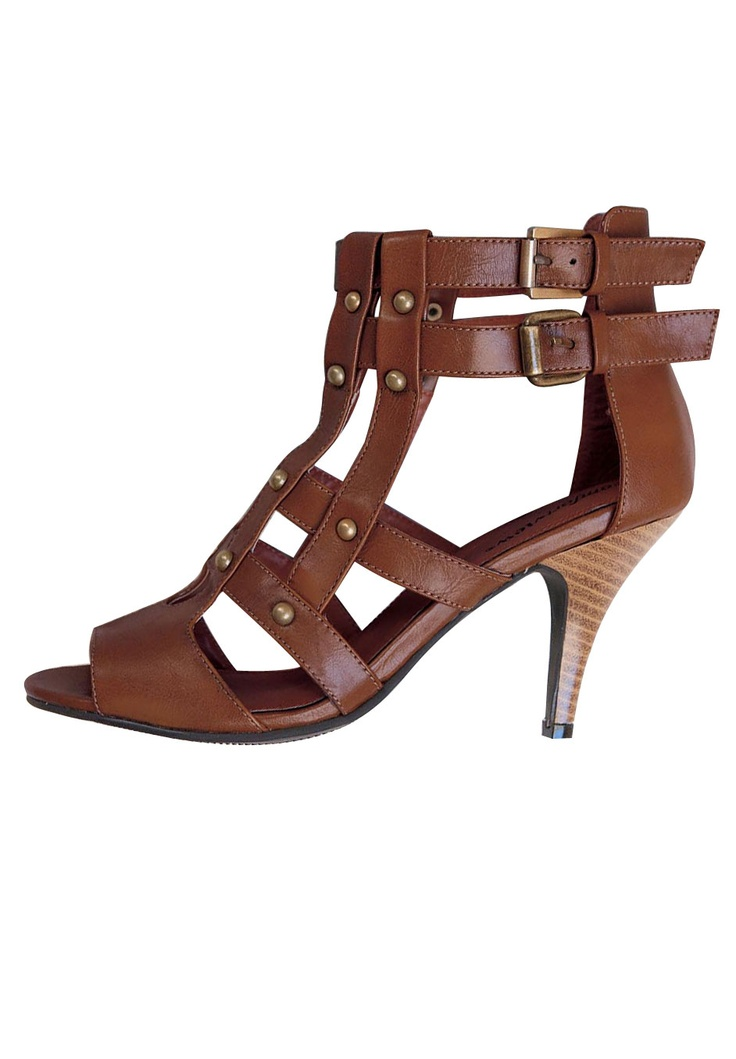 Plus Size Patti Caged Sandal by Comfortview   Plus Size New in Shoes