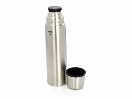 Nissan Vacuum Bottle Thermos Nissan FBB1000P6 34-Ounce Stainless-Steel Vacuum Insulated ...
