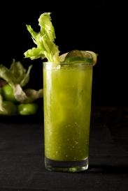 Green Bloody Mary I have never had one of these but I sure would try ...