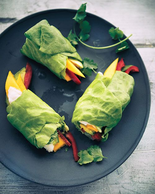 Ceviche Spring Rolls: Try these no-cook handfuls of fish and veggies ...