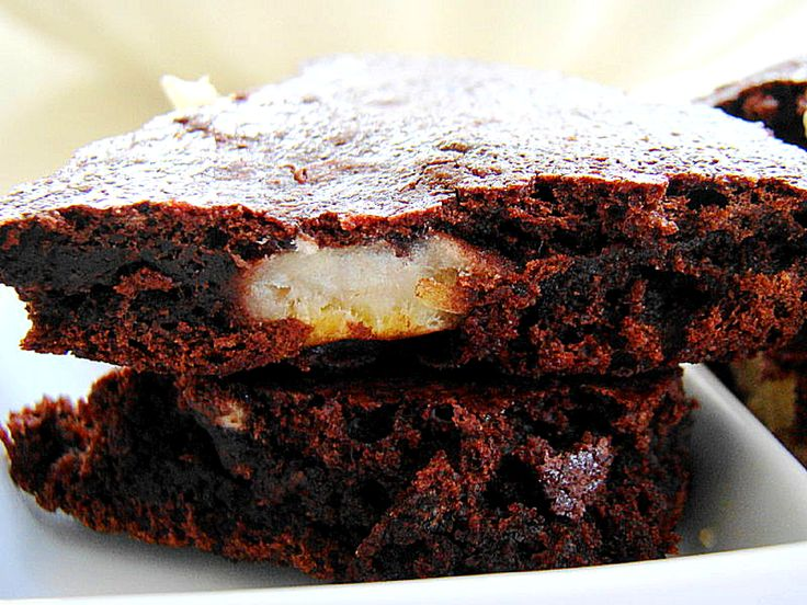 Chocolate Banana Brownies | Getting fatter... | Pinterest