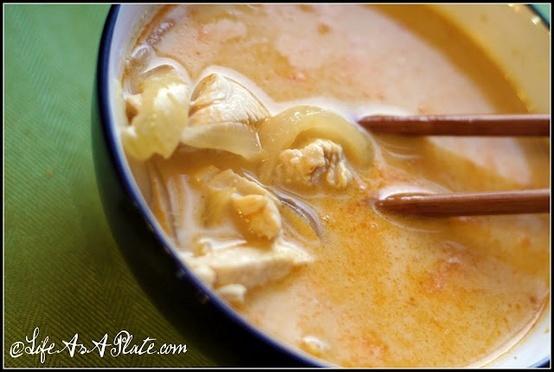 Tom Kha Gai – Thai Coconut Chicken Soup | Yummy | Pinterest