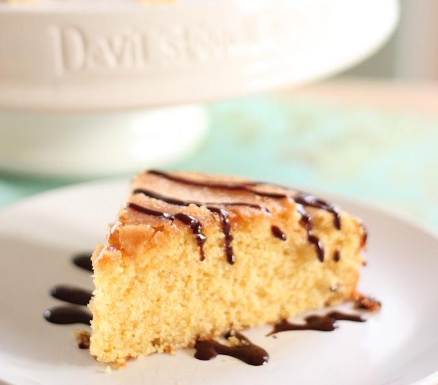 Eat Good 4 Life: Honey and Orange Cornmeal Cake