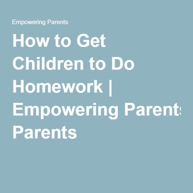 motivating kids to do homework