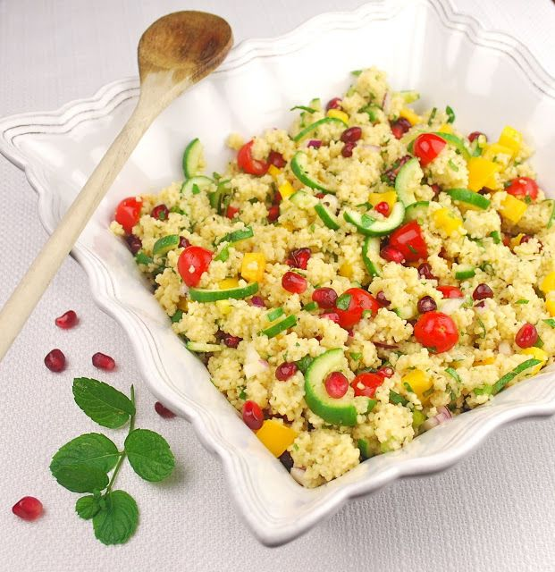 Mediterranean Couscous Salad | Recipes to try | Pinterest
