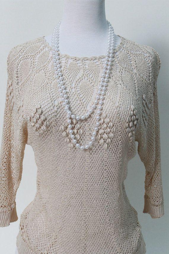 Handmade Crochet Blouse 89