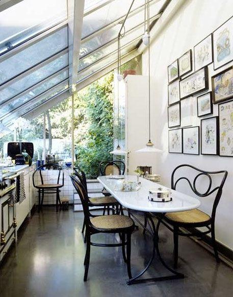 Beautiful Greenhouse Kitchen Kitchen Pinterest
