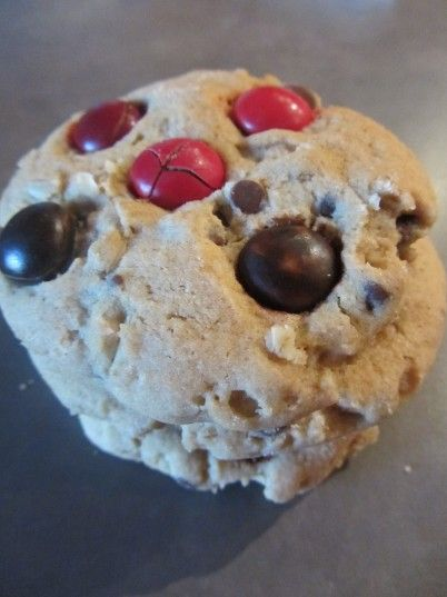 cinnamon m amp m oatmeal chocolate chip cookies