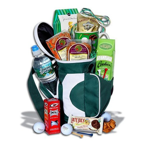 Golf Themed Gift Basket