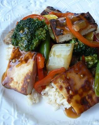 ... Recipe Blog: Garden Vegetable Stir-fry with Tofu, Steak and Brown Rice