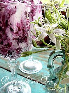 Blueberry Fool | Smoothies | Pinterest