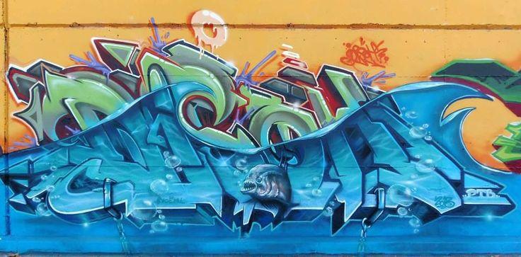 Water effect. #graffiti  Graffiti  Pinterest
