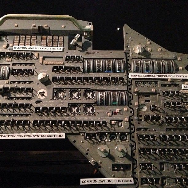 apollo capsule control panel -#main