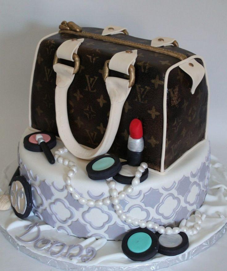 Art I Cake Jewelry Ideas : Designer Handbag Cake WEDDING CAKES N DESSERTS YUMMY ...