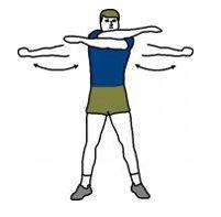 Arm Swings -- dynamic stretching | Yoga ☮ Stretching | Pinterest