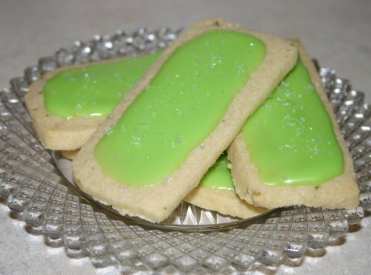 Lime-Glazed Cornmeal Cookies | Taste This!!! Sweet | Pinterest