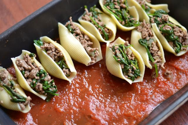 Type A Kitchen: Baked Stuffed Shells | Cooking & Recipes | Pinterest
