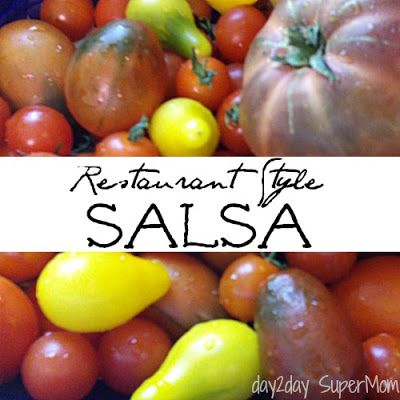 Garden Fresh Restaurant Style Salsa & canning directions ~ TacoTuesday