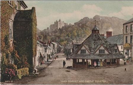 Yarn Market, Dunster. Vintage postcards Pinterest