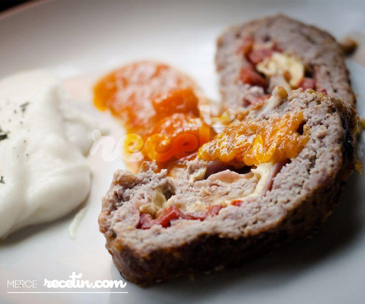 Recetas de Navidad: Rollo de carne relleno para Nochebuena