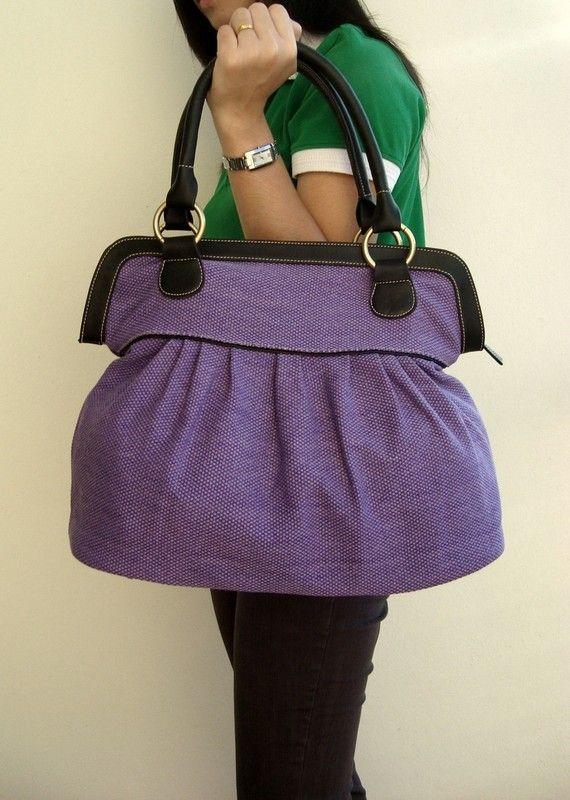 tote bags purple handbags diaper bag women handbag travel bag sch. Black Bedroom Furniture Sets. Home Design Ideas